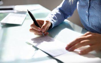 Signature Chèque