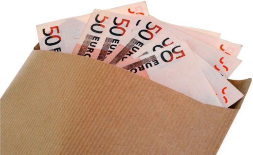 Billets Euro Enveloppe