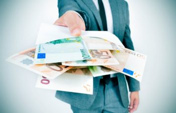 Donne Argent Euro Enveloppe